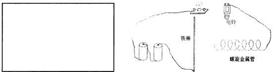 表示).并根据你猜想的电路图把图中的实物连接完整.